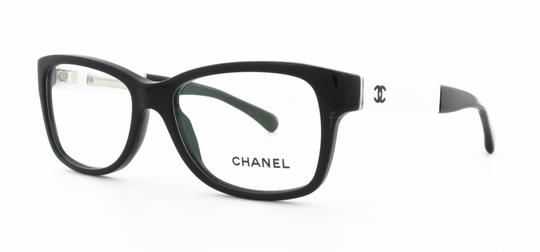Chanel Chanel CH 3232-Q c.1348 54mm Patent Leather Eyeglasses RX Frames Italy Image 2