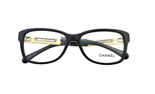 Chanel Chanel CH 3232-Q c.1348 54mm Patent Leather Eyeglasses RX Frames Italy Image 3