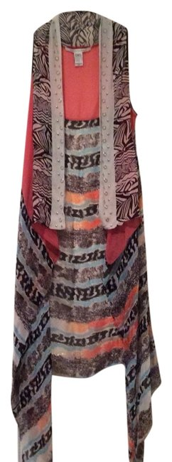 Item - Orange Multi Vest Size OS (one size)