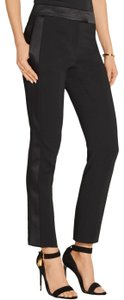 Tom Ford Satin Tuxedo Stretch Trouser Pants Black