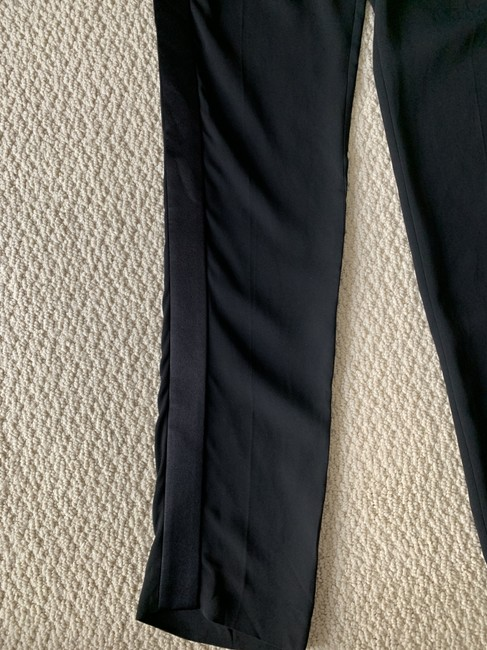 Tom Ford Satin Tuxedo Stretch Trouser Pants Black Image 10