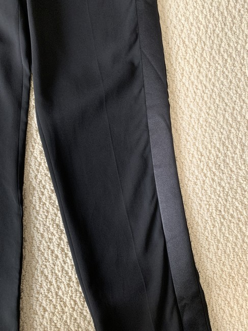 Tom Ford Satin Tuxedo Stretch Trouser Pants Black Image 11