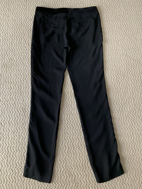 Tom Ford Satin Tuxedo Stretch Trouser Pants Black Image 4