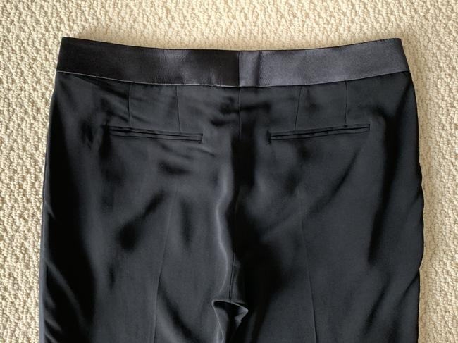 Tom Ford Satin Tuxedo Stretch Trouser Pants Black Image 6