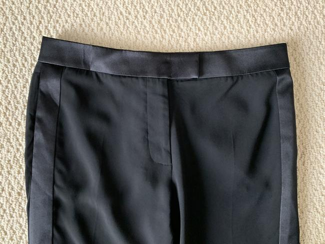 Tom Ford Satin Tuxedo Stretch Trouser Pants Black Image 7
