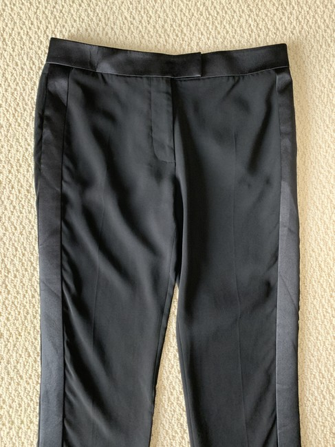 Tom Ford Satin Tuxedo Stretch Trouser Pants Black Image 8