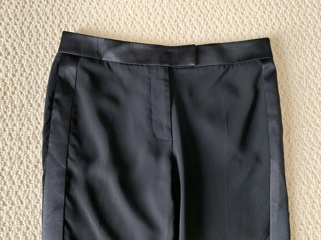 Tom Ford Satin Tuxedo Stretch Trouser Pants Black Image 9