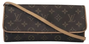 Louis Vuitton Twin Pochette Twin Monogram Shoulder Cross Body Bag