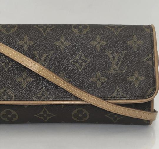 Louis Vuitton Twin Pochette Twin Monogram Shoulder Cross Body Bag Image 3