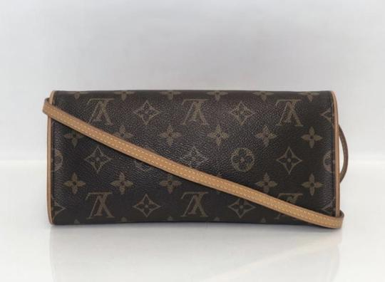 Louis Vuitton Twin Pochette Twin Monogram Shoulder Cross Body Bag Image 4