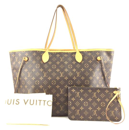 Louis Vuitton Monogram Neverfull Gm Neo Shoulder Bag Image 1