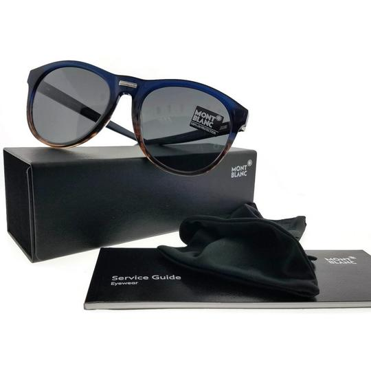 Montblanc MB506S-92A-58 Sunglasses Size 58mm 19mm 145mm Multicolor Image 1