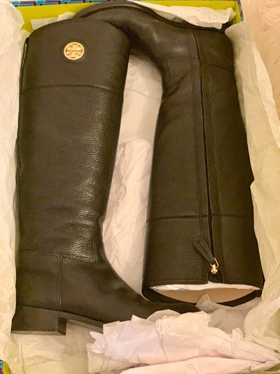 Tory Burch Black Boots Image 3