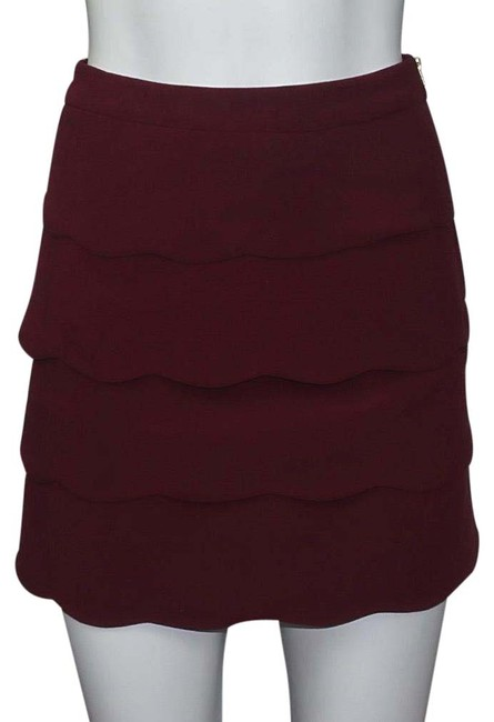 Preload https://img-static.tradesy.com/item/26159717/h-and-m-burgundy-tiered-skirt-size-4-s-27-0-1-650-650.jpg