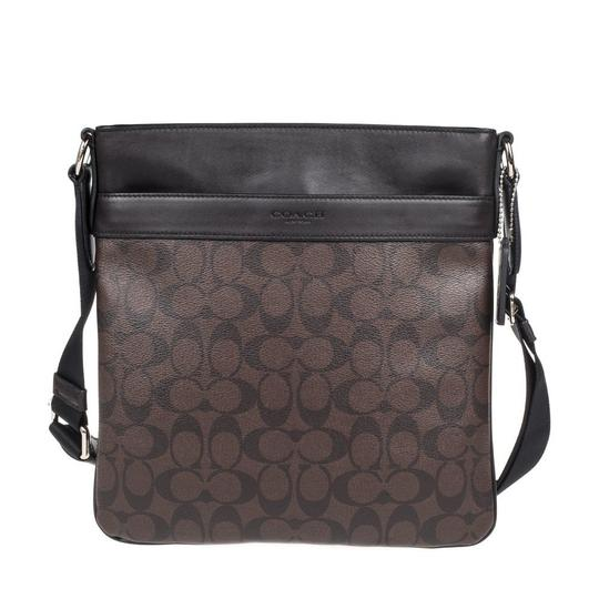 Preload https://img-static.tradesy.com/item/26159728/coach-mens-charles-in-signature-f54781-cqbk-brownblack-pvcleather-cross-body-bag-0-0-540-540.jpg