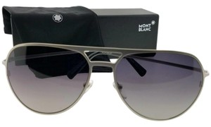 Montblanc MB546S16B62 Sunglasses Size 62mm 16mm 140mm Silver
