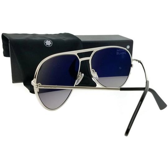 Montblanc MB546S16B62 Sunglasses Size 62mm 16mm 140mm Silver Image 2