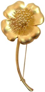 Givenchy Vintage Signed Dogwood Flower Pin Brooch France