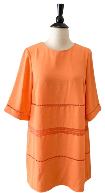CeCe by Cynthia Steffe short dress Orange on Tradesy Image 0