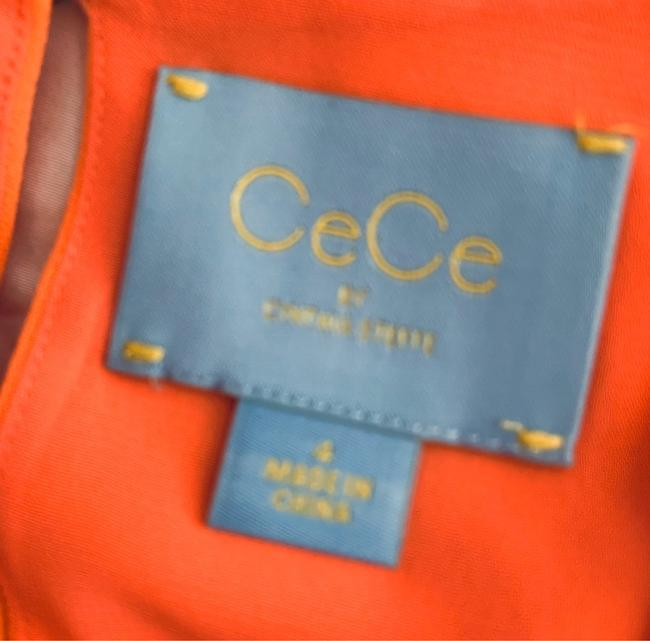 CeCe by Cynthia Steffe short dress Orange on Tradesy Image 4