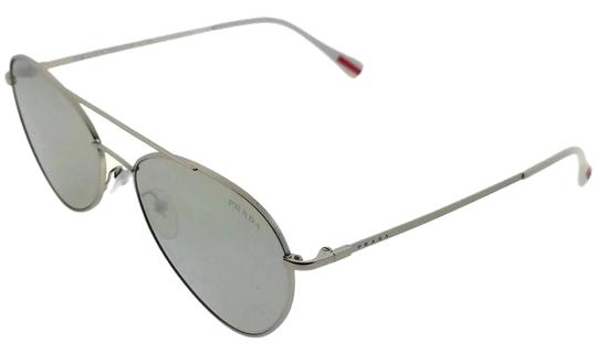 Prada PS50SS-1AP2B0 Sunglasses Size 57mm 17mm 140mm Silver Image 0