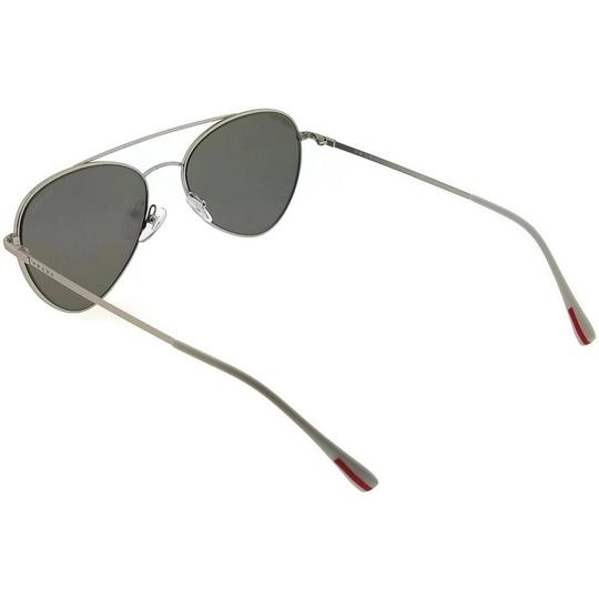 Prada PS50SS-1AP2B0 Sunglasses Size 57mm 17mm 140mm Silver Image 1