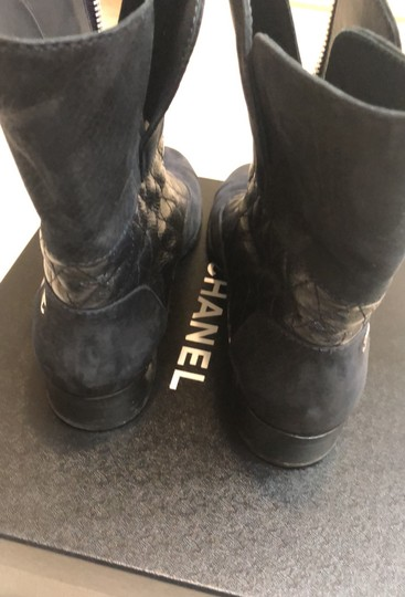 Chanel navy Boots Image 3