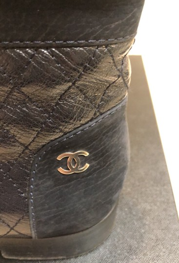 Chanel navy Boots Image 6
