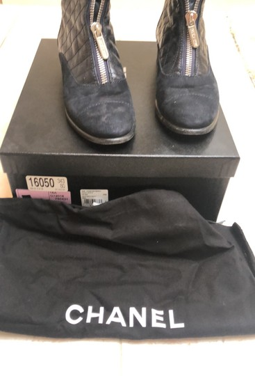 Chanel navy Boots Image 8