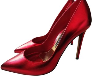 Alexandre Vauthier Metallic red Pumps