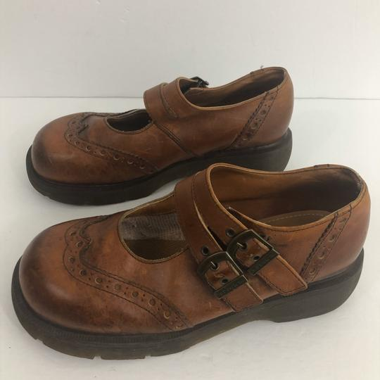 Dr. Martens brown Mules Image 2