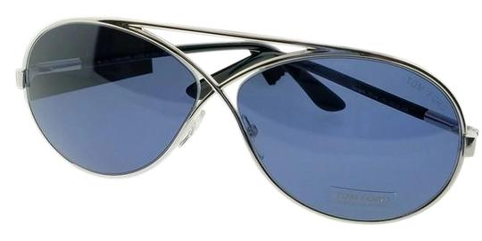 Tom Ford FT0154-18V-64 Sunglasses Size 64mm 11mm 125mm Silver Image 0