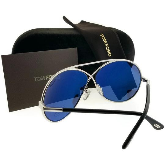 Tom Ford FT0154-18V-64 Sunglasses Size 64mm 11mm 125mm Silver Image 1