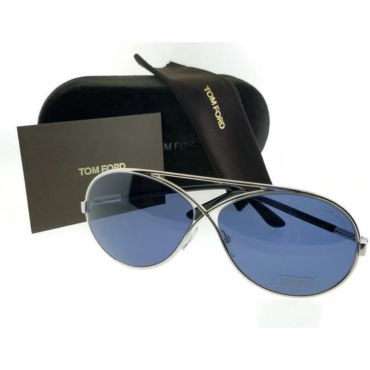 Tom Ford FT0154-18V-64 Sunglasses Size 64mm 11mm 125mm Silver Image 2