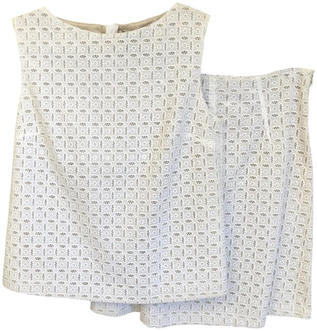 Preload https://img-static.tradesy.com/item/26159883/piazza-sempione-ivory-cotton-eyeletlace-sleeveless-top-and-skirt-suit-size-8-m-0-1-650-650.jpg