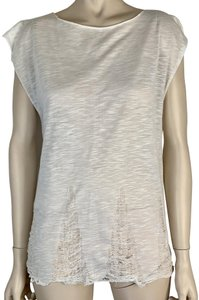BB Dakota Sleeveless Cap Sleeve Stretchy Lace Tunic