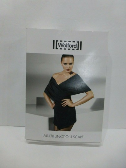 Wolford Black Multifunctional Scarf sz Medium Sold-Out Style Image 1