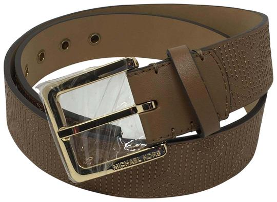 Preload https://img-static.tradesy.com/item/26159899/michael-kors-brown-medium-genuine-leather-belt-0-2-540-540.jpg