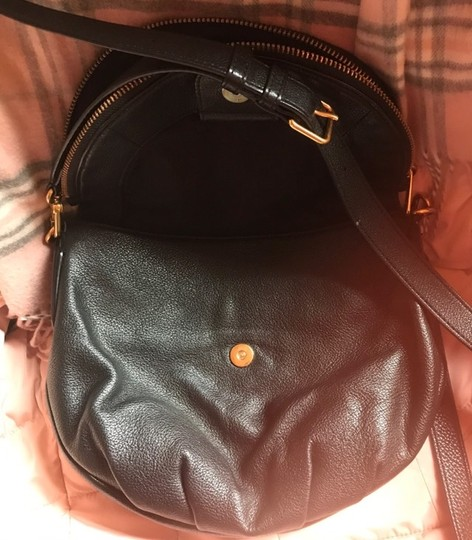 Marc by Marc Jacobs Workwear Leather Leather Foldover Zip Pocket Cross Body Bag Image 3