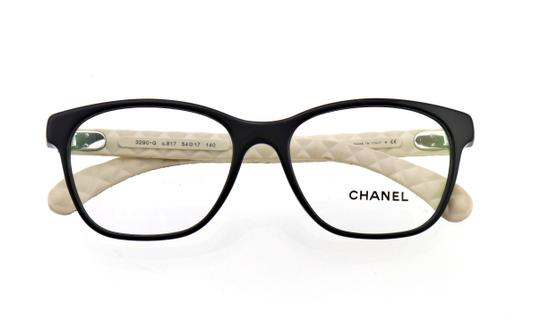 Chanel Chanel CH 3290-Q c.817 54mm Quilted Leather Eyeglasses RX Frames Italy Image 1
