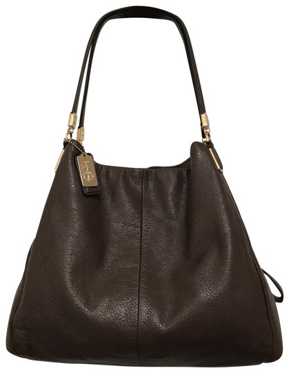 Preload https://img-static.tradesy.com/item/26159916/coach-phoebe-madison-26224-brown-gold-leather-shoulder-bag-0-1-540-540.jpg