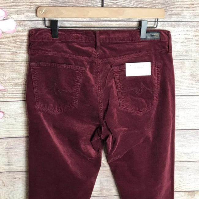 Ag Adriano Goldschmied Skinny Pants Red Image 6