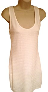 Love, Fire short dress Ivory Bodycon on Tradesy