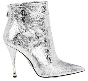 Paul Andrew metallic silver Boots