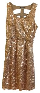 The Vintage Shop Homecoming Sparkle Sequins Cutouts Cut-out Dress
