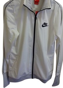 Nike Nike White Track Jacket - L - Brand New