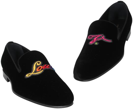 Preload https://img-static.tradesy.com/item/26161040/louis-vuitton-black-embroidered-rainbow-logo-auteuil-velvet-slipper-loafers-formal-shoes-size-us-10-0-1-540-540.jpg