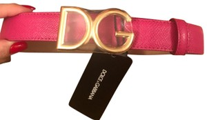 Dolce&Gabbana dolce and gabbana logo belt