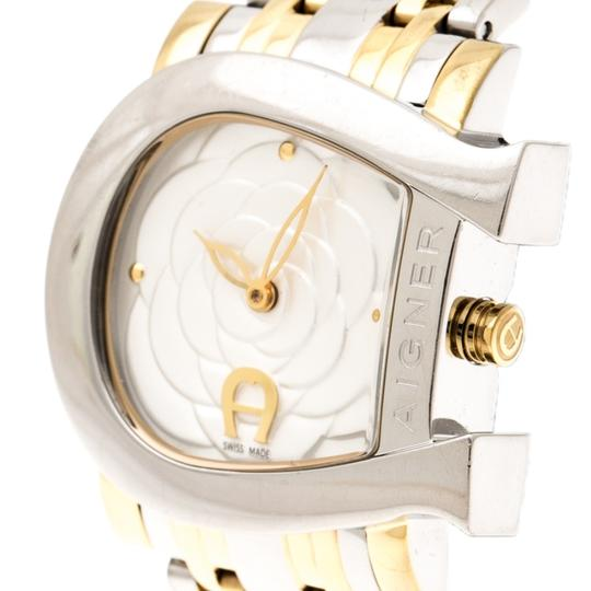 Etienne Aigner Floral Two-Tone Stainless Steel Genua Due A31600 Women'sWristwatch31mm Image 2
