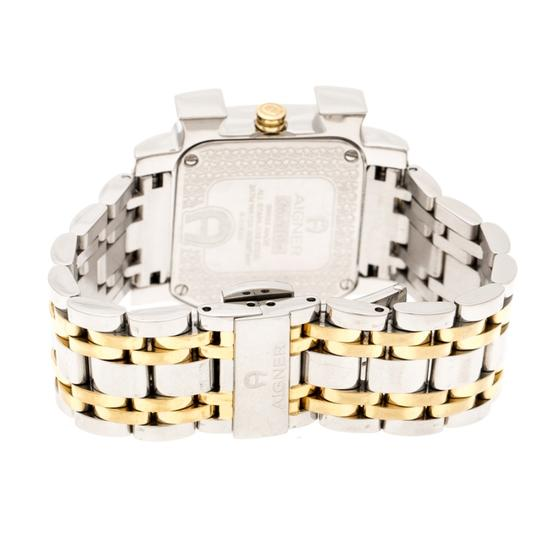 Etienne Aigner Floral Two-Tone Stainless Steel Genua Due A31600 Women'sWristwatch31mm Image 6